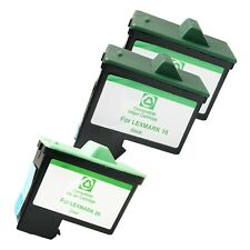 3+ PACK LXM16 26 Ink Cartridges for Lexmark Z13 23 25 34 35 515 600 602 Printers