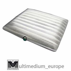 Art Deco Zigarettenetui Silber Grün silver cigarette case box RM MR 🌺🌺🌺🌺🌺