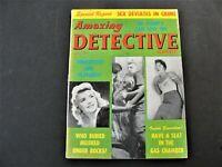 Amazing Detective Cases - Sex Deviates in Crime, December 1961, Magazine.