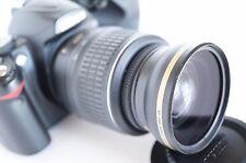 Wide Angle Macro Semi Fisheye Lens for Nikon Digital D Series d7100 d7000 52mm