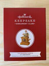 2019 Hallmark Keepsake Club Exclusive Toymaker Santa Ornament
