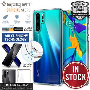 For Huawei P30 Pro Case Genuine SPIGEN Ultra Hybrid Air Cushion Clear Hard Cover
