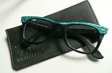 Ray-Ban B&L Wayfarer 5022 nero e verde montatura per occhiali vintage anni '80