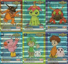 New listing Digimon Series 1 2000 Upper Deck Lot Of 6 Parallel Prism Cards