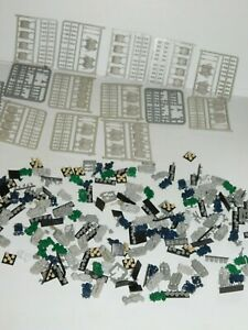 VINTAGE HUGE LOT OF VARIOUS AXIS AND ALLIES PARTS PIECES TANKS