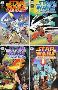 STAR WARS RIVER OF CHAOS #1 - #4 (1995) Dark Horse Comics Set of 4