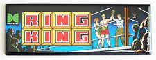Ring King Marquee FRIDGE MAGNET (1.5 x 4.5 inches) arcade video game header