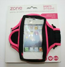 Zone Sports Armband Adjustable Iphone 3G,4/4S, 5/5S Pink/Green Ipod 1/2/3/4/5