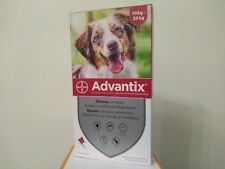 ADVANTIX¹chien puces-tiques Flea and Tick Treatment 10-25 kg  bte 4 pipettes