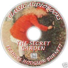THE SECRET GARDEN, F Alto BURNETT, MP3 CD EXCELENTE infantil audiolibro Clásico