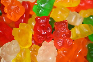 Albanese SUGAR FREE 6 Flavor Gummi Bears, 5 LBS FREE EXPEDITED SHIPPING