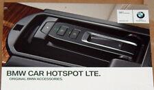 BMW OEM Car Hotspot LTE E60 E61 E63 E64 E65 E66 F01 F02 F10 F11 F12 F13 X6 E70