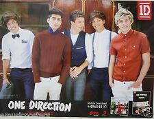 "ONE DIRECTION ""TAKE ME HOME"" PROMO POSTER FROM THAILAND -Group Dressed In Style!"