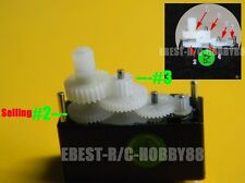 10pcsX Upgraded Servo Gear (5P 2# +5P 3#) for Walkera Genius Mini Super CP heli