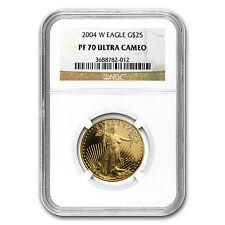 2004-W 1/2 oz Proof Gold American Eagle PF-70 NGC - SKU #19361