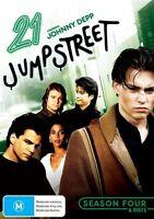 21 Jump Street : Season 4 (DVD, 2012, 6-Disc Set) Region 4