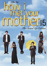 HOW I MET YOUR MOTHER - THE COMPLETE FIFTH SEASON 5 FIVE 3-Disc DVD Set