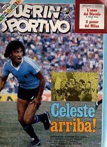 GUERIN SPORTIVO=N°3 1981=MUNDIALITO=POSTER MILAN 80/81=AC/DC=IVAN CATTANEO