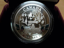 2011 RCM $10 Dollar Fine Silver Coin Wintertown