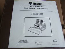 BOBCAT OEM T140 COMPACT TRACK LOADER SERVICE MANUAL