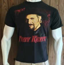 Toby Keith Men's Large Tshirt Country Tour 2001 Pull My Chain Black Concert Band