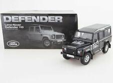 1:18 Land Rover Defender D110 One Ten Dorlop Diecast Model Black (RHD) NEW