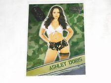 2015 Benchwarmer Signature ASHLEY DORIS #21 Boot Camp Silver PLAYBOY Playmate
