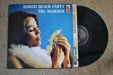 Hawaii Beach Party The Waikikis Sexy Island Exotic Record lp VG++