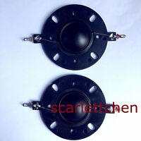 "1 pair 25.4 25.5mm (1"") silk diaphragm dome Tweeters horn Drive voice coil-8ohm"