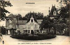 CPA Auvergne ST-PRIEST Chateau des GUERINETS (409485)