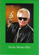 Sechs Heino-Hits * Klavier Noten + Akk + überlegte Gesangstimme