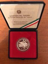 MONETA CELEBRATIVA 40° ANNIVERSARIO COSTITUZIONE LIRE 500 1988 ARGENTO 835 PROOF