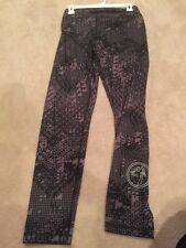 NWT Zumba wear Fitness Tri Me Perfect Leggings Long Black gray XXL slimming NEW