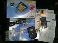 Palm m100 Handheld Pda w/ Box, Manual, Sync Cable , and Paperwork