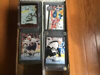 1995-96 Complete Autograph Be A Player Mint Set, Gretzky, Roy 225 Hockey Cards