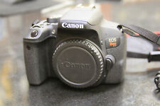 AS IS: Canon EOS Rebel T7i 24.2 MP Digital SLR Camera - Black (Body Only)