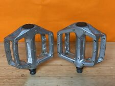 """Old Mid School Platform Pedals 9/16"""" Spindles/old Mid School Freestyle Bmx"""