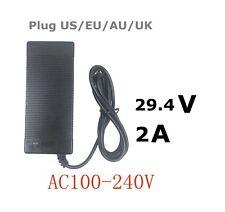 29.4V 2a charger for 25.2V 25.9V 29.4V 7S lithium battery pack e-bike charger