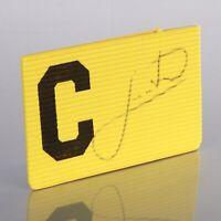 Juninho Signed Captains Armband Middlesbrough Autograph Memorabilia + COA
