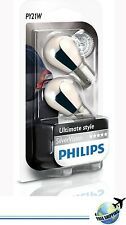 Philips Silver Vision 12496svb2 py21w SILVERVISION INDICATOR bau15s (2 bulbs)