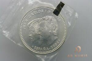 12€ euro 2004 Felipe y Letizia Spain Espagne Sous scellé FDC - Argent