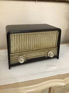 Philips Model B3X66U Valve Radio Vintage Works Tested!