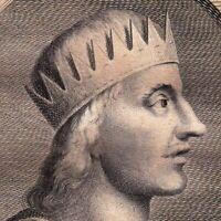 Portrait XVIIIe Egbert de Wessex Roi d'Angleterre Ecgberht King Wessex Ellendune