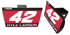 NASCAR #42 KYLE LARSON Metal Trailer Hitch Cover-NASCAR Hitch Cover
