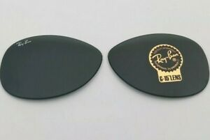 RAY-BAN Genuine RB3362 Cockpit Replacement Green G15 Lenses 59 No Frame