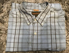 TIMBERLAND MENS SHORT SLEEVE SHIRT SIZE XL - NICE CLEAN CONDITION