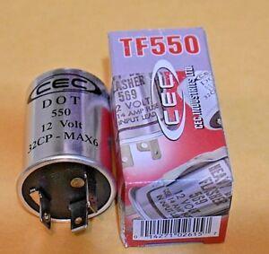 Turn Signal Flasher CEC  TF550  1982 - 1984 Porsche 911