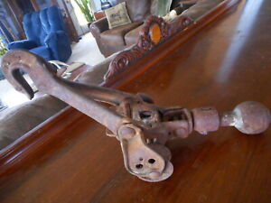 RARE Vintage Trailer Hitch Farm Tool G.A. Olson Mfg Co. NOT for USE Collectible
