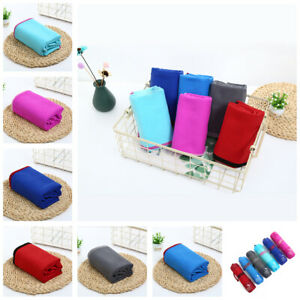 Microfiber Body Towel Sports Bath Gym Quick Dry Travel Swimming Camping Bea