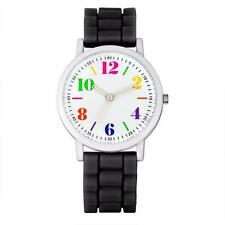 New Fashion Ladies Womens Silica Jelly Gel Band Quartz Sports Analog Wrist Watch
